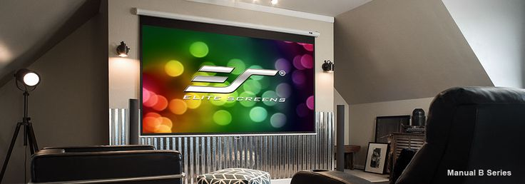 We can help you buy the right projector screen for your home theater within your budget. Take out some time, and visit us @EliteScreens.