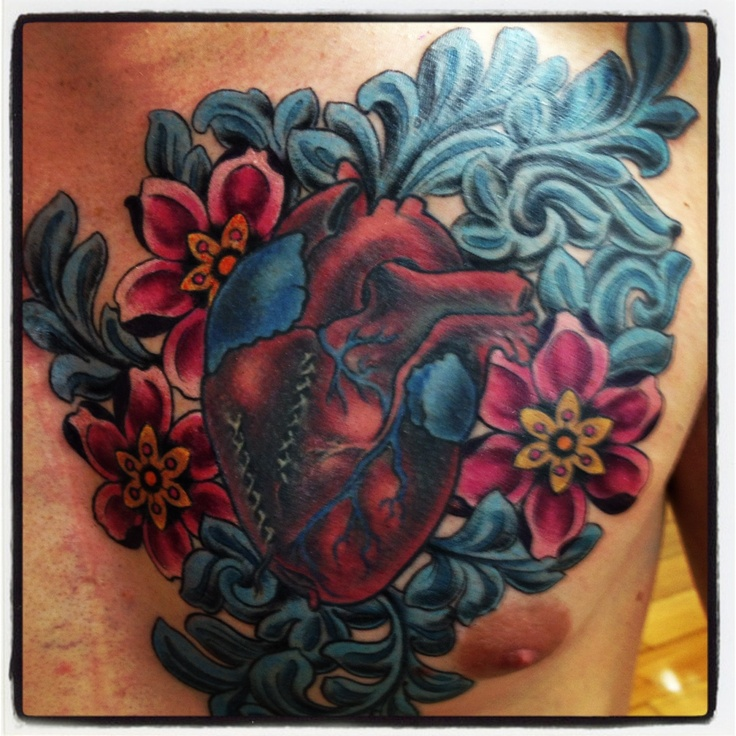 19 best tattoos for heart surgery images on pinterest for Heart surgery tattoo