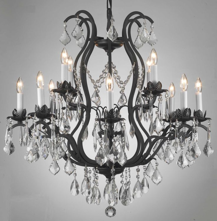 49 best Chandeliers images on Pinterest | Crystal chandeliers ...