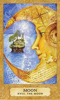 July 23 Tarot Card: The Moon (Chrysalis deck) Follow your gut feelings ~ your instincts are your greatest guide now