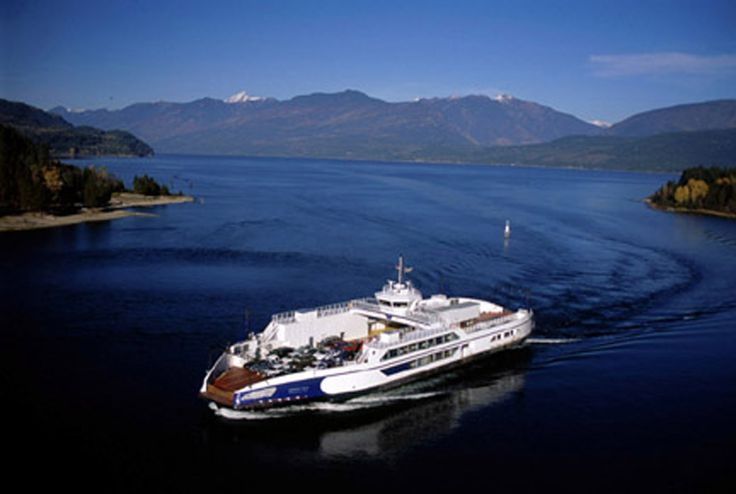 Kootenay Lake Free Ferry