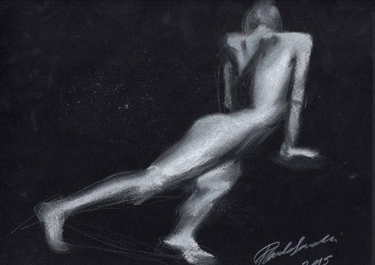 #bozzetto #figuraumana #donna #nudoartistico #lucieombre