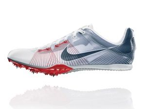 If I was still competing in Track, this would be my spike shoe.  Nike Zoom Victory, weighs about as much as a pair of socks!