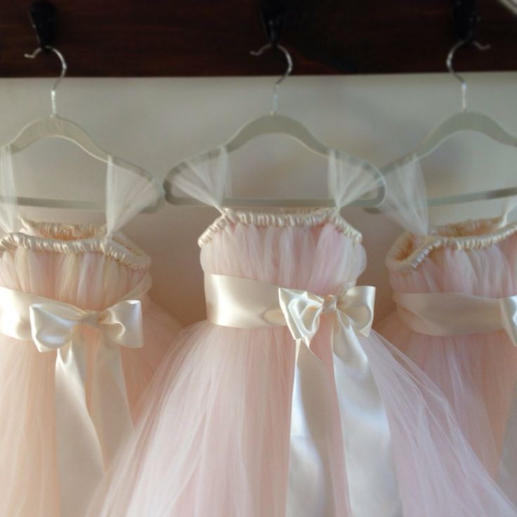 Blush+tutu+dress+with+ice+pink+accents+NB12+girls+by+HadandHarps,+$60.00