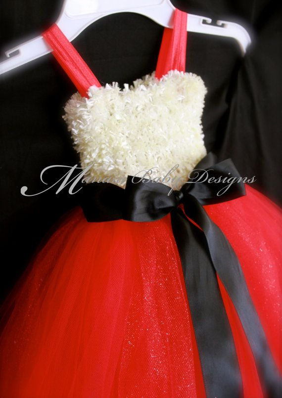 Christmas Tutu / Santa Baby Tutu Dress by ManaiaBabyDesigns