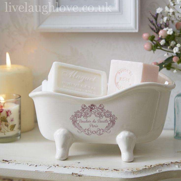74 best bathroom accessories images on pinterest bathroom rh pinterest co uk shabby chic bath set shabby chic bath set