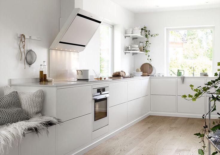 Kjøkkeninspirasjon - Plassbygd kjøkken – Bistro