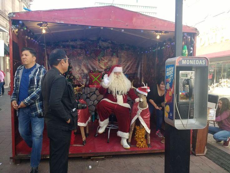 Otorga Municipio solo 3 permisos para Santa Claus en la Libertad | El Puntero
