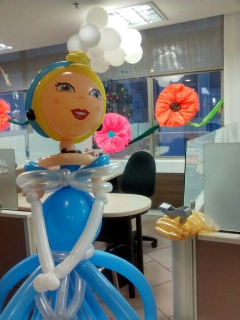 Princess twist balloons