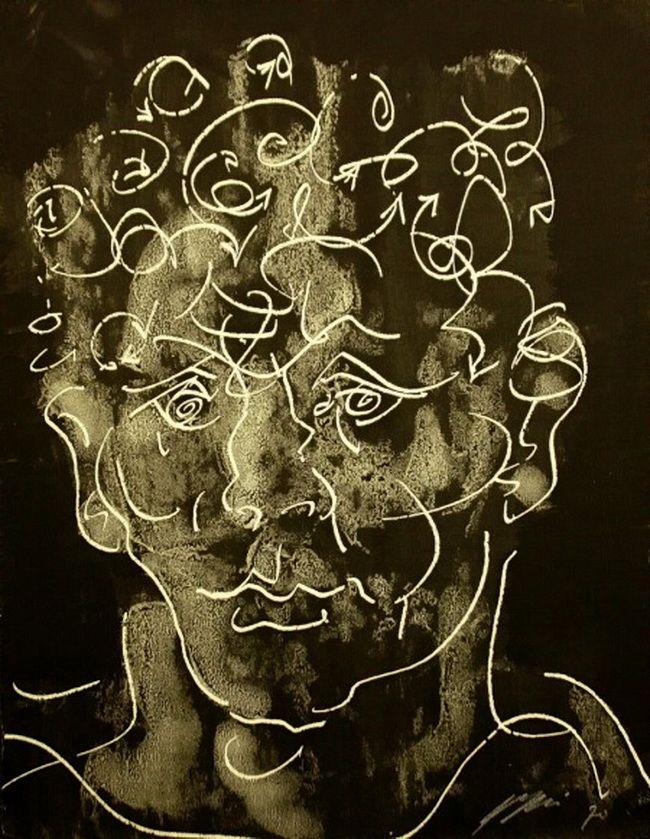 http://sergej-manit.livejournal.com/854046.html Автопортрет 1970 год.