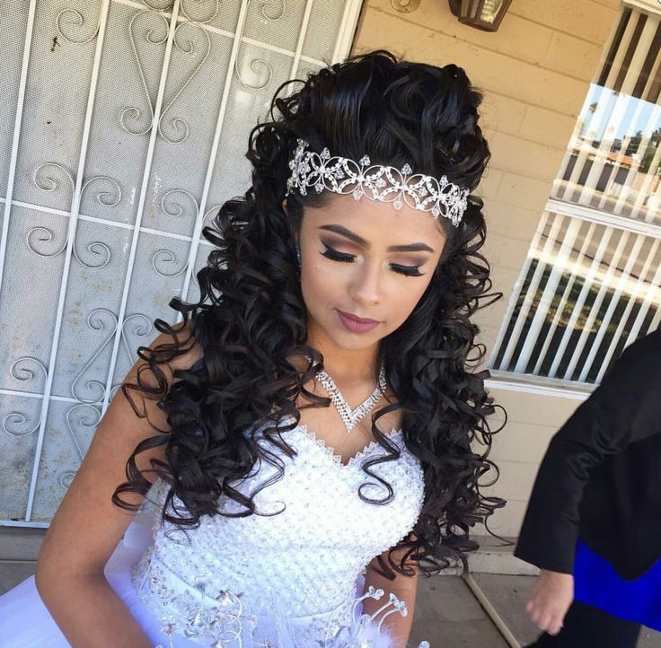 Quinceanera Hairstyles For Long Hair 2017 : Best ideas about quince hairstyles on