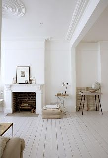 MAISON DECOR: Inspirtaion: a white house in London