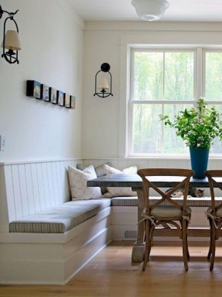 25 Wonderful Farmhouse Dining Room Decor Ideas Kitchen Corner