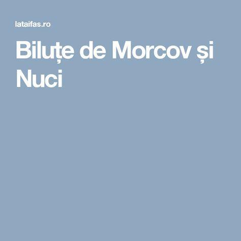 Biluțe de Morcov și Nuci