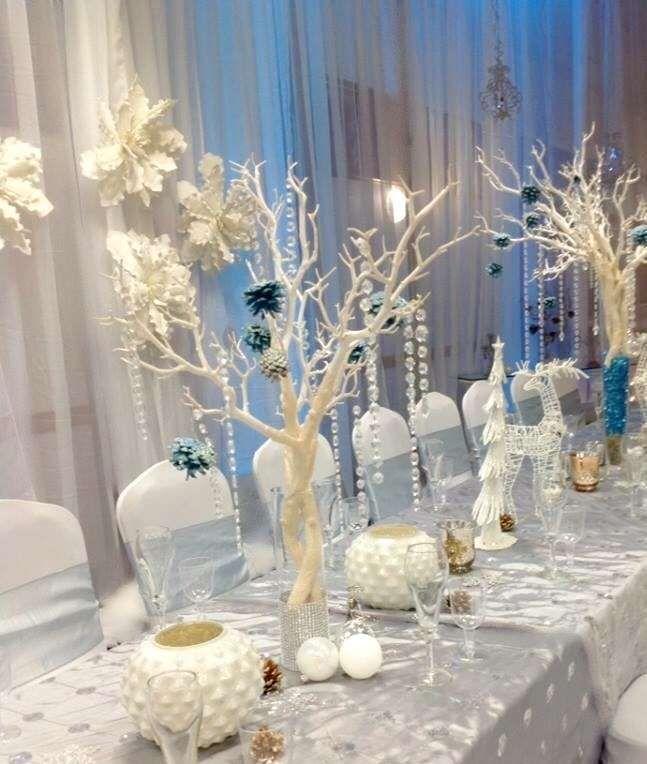 stunning Winter Wonderland Table Decor Part - 3: Winter Wonderland Quinceañera Party Ideas | Winter Party Ideas | Winter  wonderland party, Winter wonderland wedding, Wonderland party