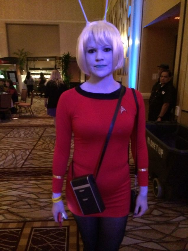 All The Boldest Cosplay From Star Trek Las Vegas 2014!