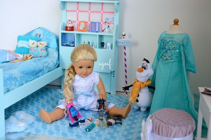 Pleasing American Girl Dolls Super Cute Agosf Has Created Elsas Download Free Architecture Designs Grimeyleaguecom