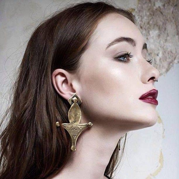 Morrocco inspired earrings by BreakAStone #breakastone #nidodileda #morrocco #boho