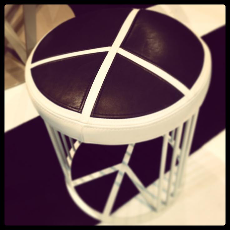 #pace pouf, design Garilab by Piter Perbellini for #altreforme @iSaloni 2013 #interior #home #decor #homedecor #furniture #aluminium
