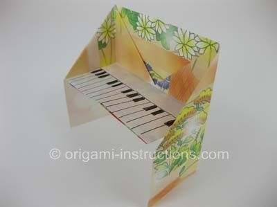how to make origami instruments