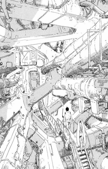 """""""Knights of Sidonia"""" by Tsutomu Nihei 弐瓶 勉*  • Blog/Website 