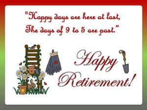 Wishes For Retirement From Service