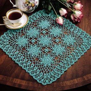 Leisure Arts - Lace Bouquet Doily Thread Crochet Pattern ePattern, $2.99 (http://www.leisurearts.com/products/lace-bouquet-doily-thread-crochet-pattern-digital-download.html)