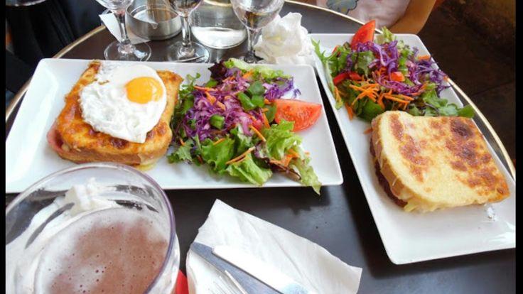 Крок-месье — блюдо французской кухни, представляющее собой горячий бутерброд с ветчиной и сыром.