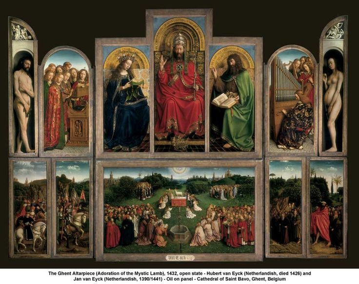 the ghent altarpiece - Cerca amb Google