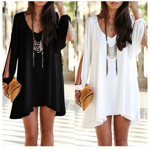 Vestido suelto