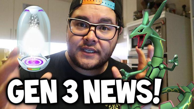 BIG UPDATE: GEN 3 IN POKEMON GO, SUPER INCUBATOR & MEWTWO SOON?! (Pokémon GO Gen 3 Datamine) - YouTube
