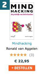 Super, ook vandaag staat het boek 'Mindhacking, de praktijk van beïnvloeden' van Ronald van Aggelen op verkooppositie 2 van de Managementboek bestsellerlijst. #mindhacking #ronaldvanaggelen #mgtboeknl #futurouitgevers
