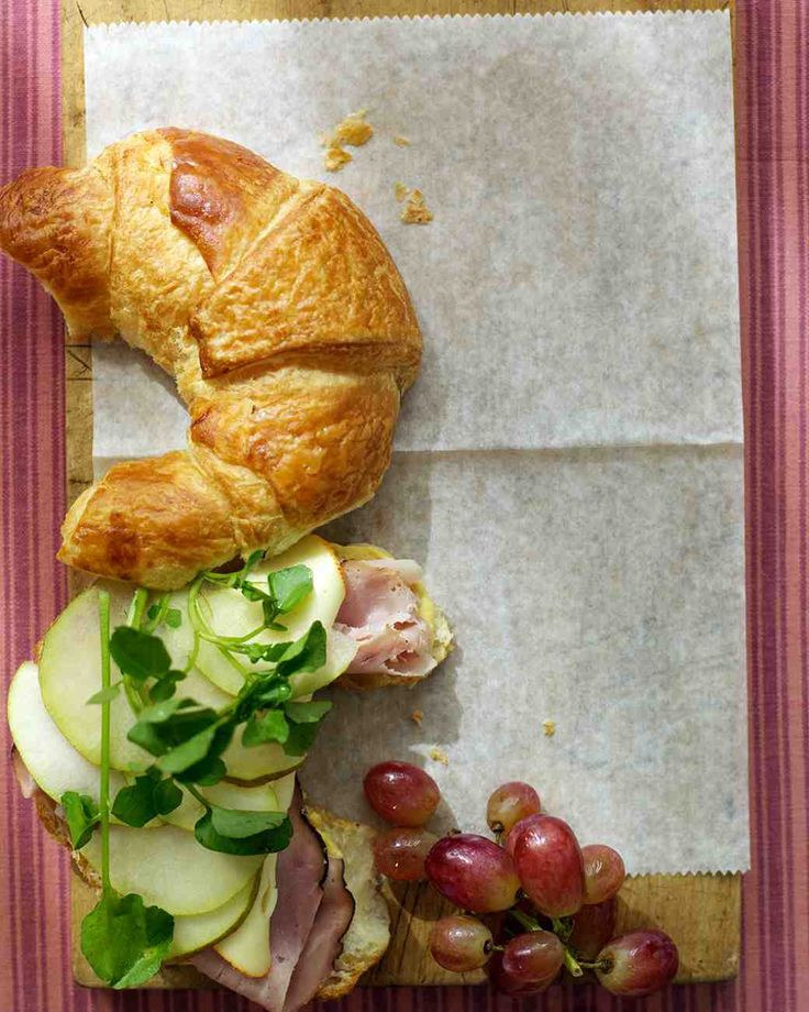 Ham and Cheese Croissant #lunchbox
