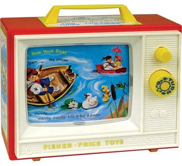 Failure and my Fisher Price TV - 3 Lessons I Learned about the Stories I Tell Myself About Failure