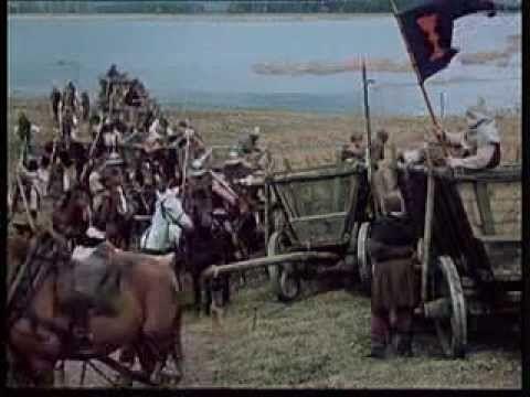 Hussites and Jan Žižka in the Battle of Sudoměř