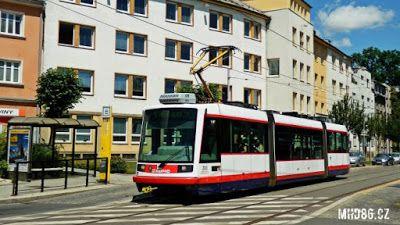 Praha Anděl: Olomoucí začne jezdit nová tramvajová linka s ozna...