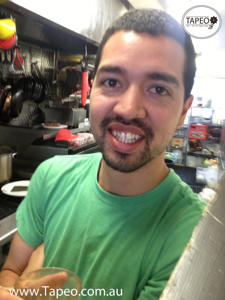 MEET THE TEAM: Alex's big #smile is an attention grabber ;). Meet him at Tapeo: 82 Redfern St, Redfern NSW. Check us out at http://www.Tapeo.com.au & follow us on FB http://FB.com.tapeo.au #tapeo #tapeocafe #tapeoredfern #redfern #sydneycafe #sydney #cafe #restaurant