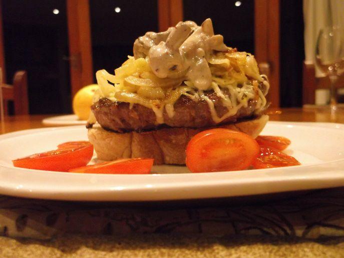 Gourmet Ostrich Burger Recipe