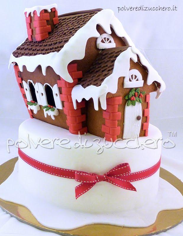 Gingerbread house template polveredizucchero.it