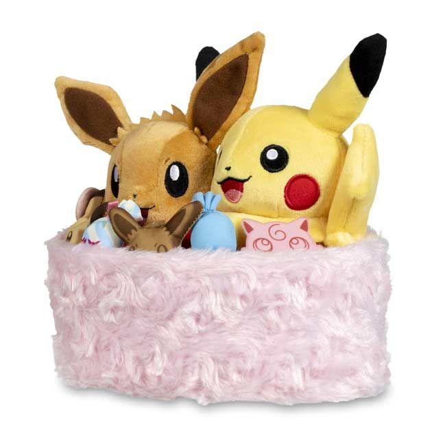 0386626b Image for Seasonal Celebrations: Pikachu & Eevee Sweet Days Plush - 7 ¼ In.  from Pokemon Center