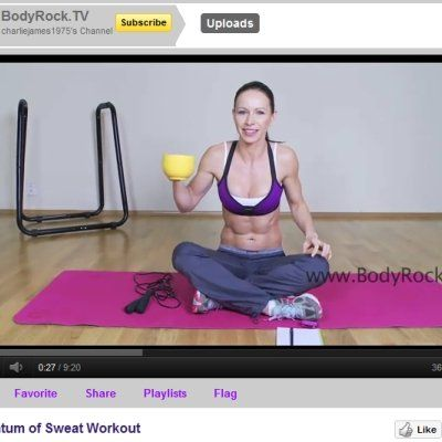 Skip the expensive gym classes and get a great workout at home! We have the best Youtube workout channels so you can score a great cardio, strength or yoga class at home for free! Our favorites include Bodyrock TV and Pop Pilates!