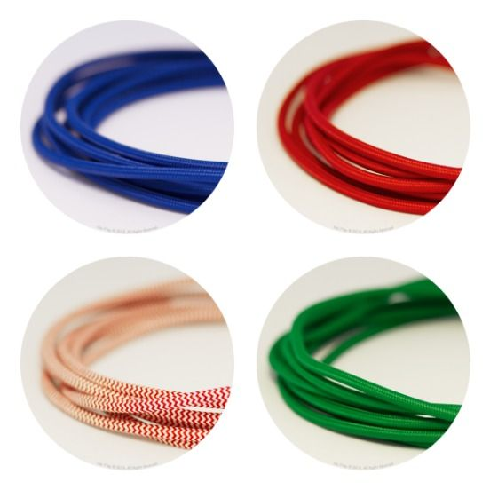Customise your lights with colour cords from Hoi P'loy