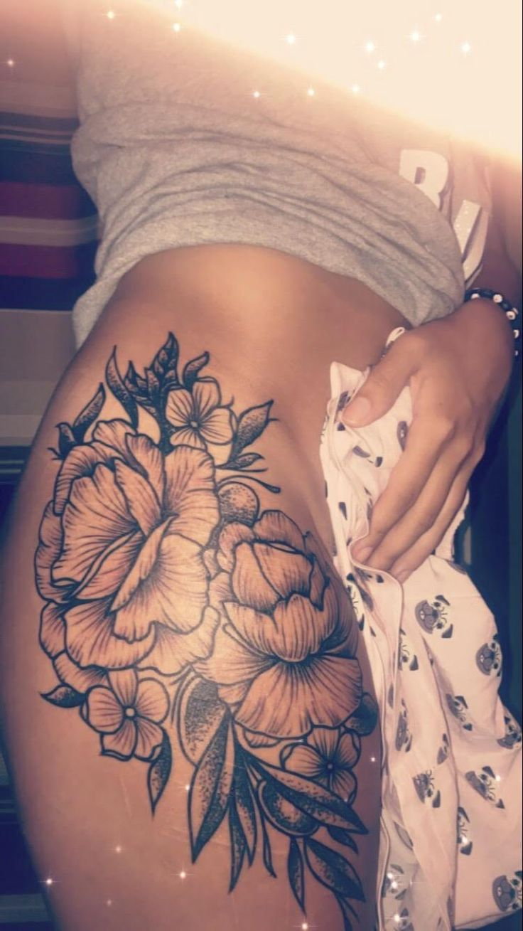 Tattoo of peonies to cover up some nasty self harm…