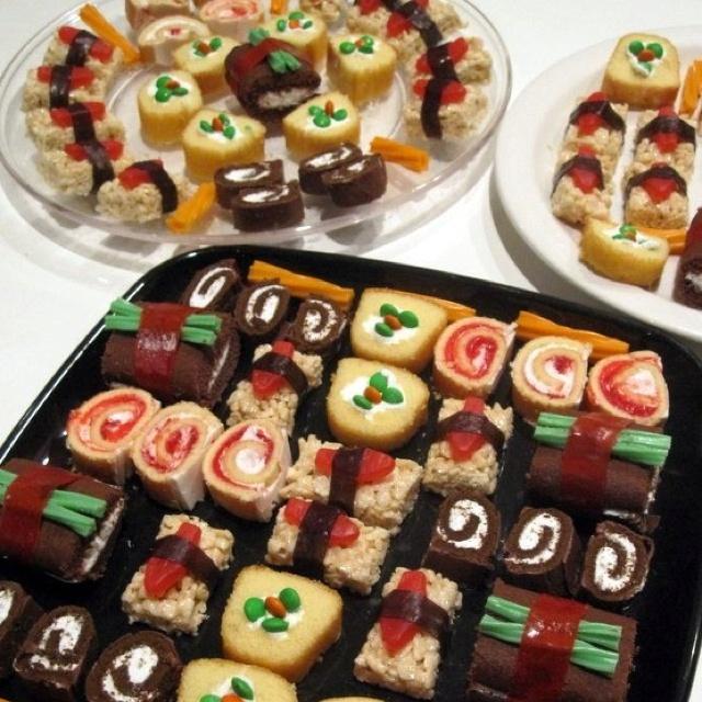 79 best images about dessert sushi on pinterest fruit. Black Bedroom Furniture Sets. Home Design Ideas
