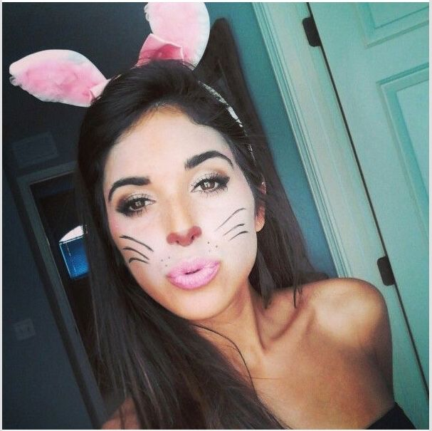 The 25+ best Bunny makeup ideas on Pinterest | Deer face paint ...