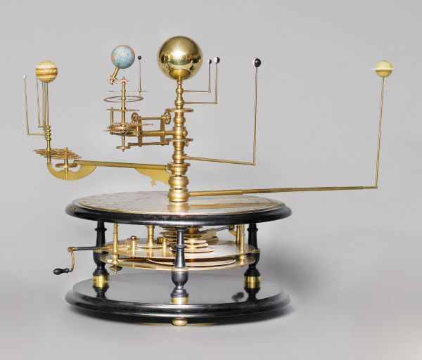 A limited edition grand orrery, George Gyori, recent, mounted… - Globes - Terrestial & Celestial - Industry Science & Technology - Carter's Price Guide to Antiques and Collectables