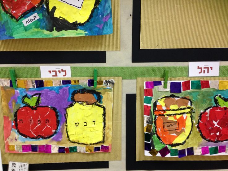 rosh hashanah elementary activities