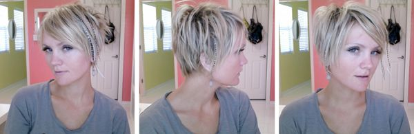 Yup, this is my new hair cut... just as soon as I work up the courage to go have it done...