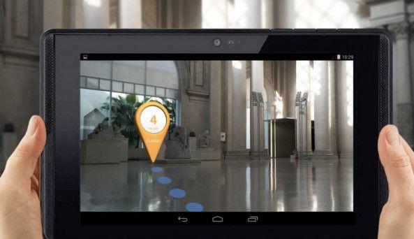 Vídeo del Project Tango de Google para usar Realidad Aumentada en museos  Móviles y Tablets google project tango realidad aumentada