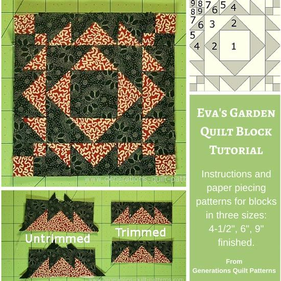 Quilt Pattern With Different Size Blocks : 1000+ images about Frame blocks on Pinterest Gardens ...